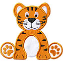 Tiger Cub Applique Design