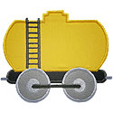Train Tank Car Applique