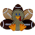 Turkey Football Applique Design