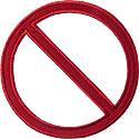 Universal No Sign Applique Design