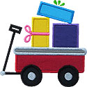 Wagon Gifts Applique Design