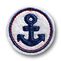 Circle Anchor Feltie Design