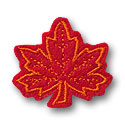 Maple Leaf Feltie Design