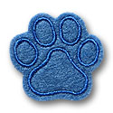 Paw Print Feltie Applique Design