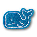 Whale Feltie Applique Design