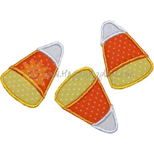 Candy Corns Applique Design
