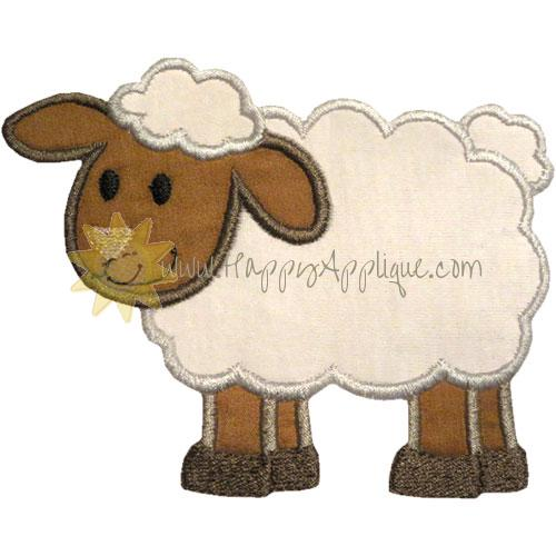Lamb Applique Design