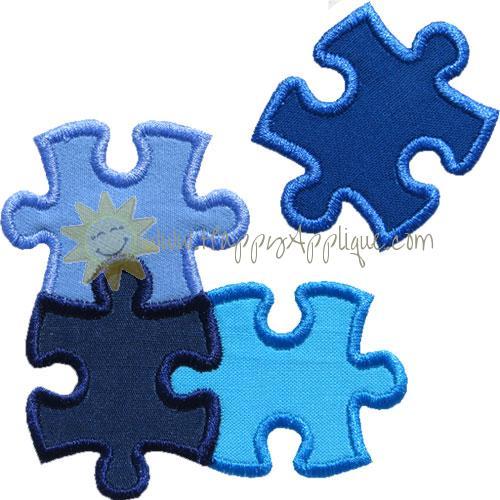 Puzzle 1 Missing Applique Design