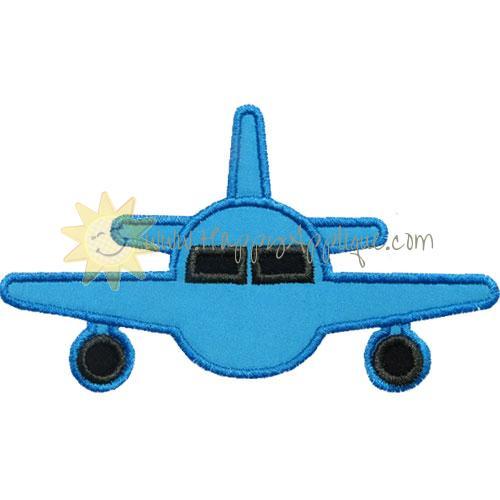 Airplane Jet Applique Design