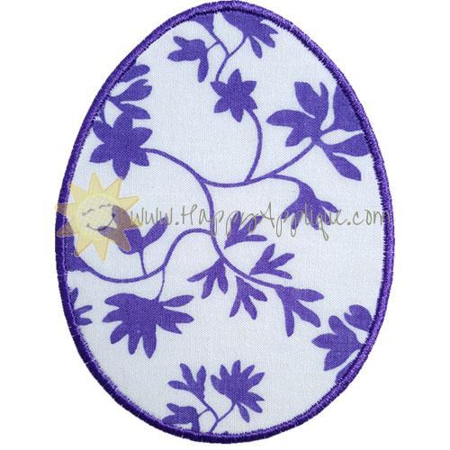 Basic Egg Applique Design