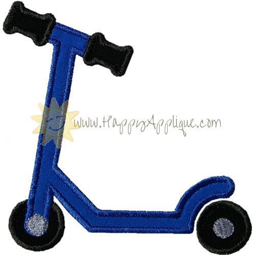 Scooter Applique Design